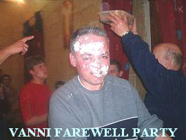 VANNI FAREWELL PARTY